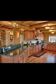 Log Cabin Kitchen Lighting Ideas by 135 Best Log Cabin Kitchen Images On Pinterest Log Cabin