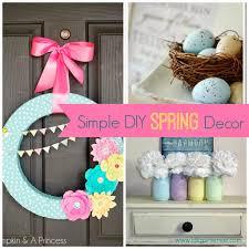 Simple DIY Spring Decor Ideas