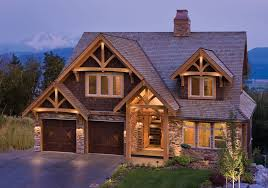 The Mountain View House Plans by Eagle Mountain Residence Riverbend Timber Frame Home