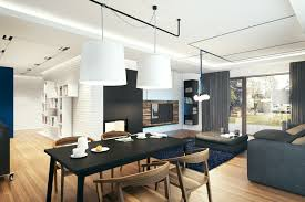 Beautiful Modern Dining Table Lighting 28 Fabulous Room With White Light Fixtures Furnished Black Coupled Wooden Chairs And Completed Cups On The