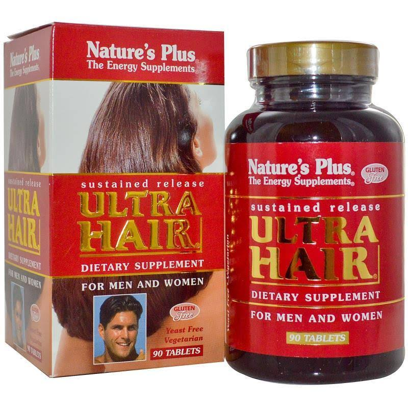Natures Plus Ultra Hair - 90 Tablets