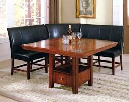 Upholstered Dining Table Bench With Back Room Attractive Design Ideas