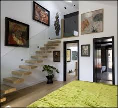 Floating Stairs For The Mezzanine Bedroom