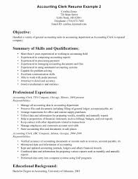 Sample Clerical Resume Unique Job Samples Medical Administrative Assistant