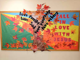 bulletin board ideas autumn fall tree classroom door decorations