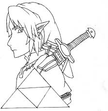 ZELDA PRINTABLE COLORING PAGES