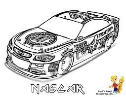 NASCAR Pictures That You Can Color In At YesColoring
