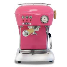 Ascaso Dream UP V3 PID Espresso Machine W Wood Handle Steam Knob LIGHT GUM PINK