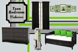 Bedroom Design Teen Boys Xbox Inspired Room Makeover