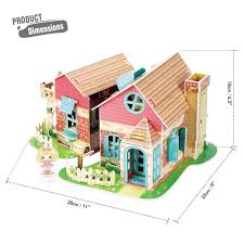 Amazoncom Rolife Miniature Dollhouse Kits With AccessoriesModel