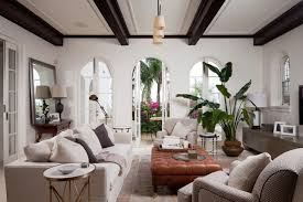 Inspiration For A Large Mediterranean Open Concept And Formal Living Room Remodel In Sydney With White