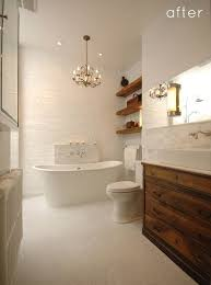 Chandelier Over Bathroom Sink by 149 Best Bathrooms Images On Pinterest Room Bathroom Ideas And