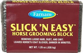 Horse Hair Shedding Blade by Slick U0027n Easy Grooming Blocks Farnam Grooming Grooming Aids