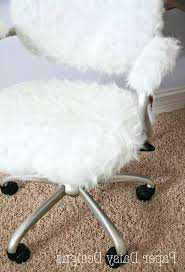 Desk Chair Girly Desk Chair Tall Back Office Chairs Furry For