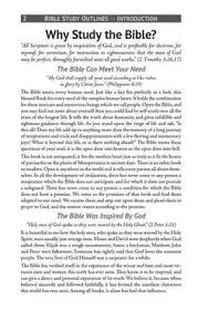 Bible Study Outlines Volume 3