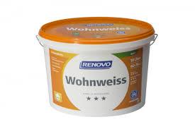brillux wandfarbe wohnweiß renovo 10l