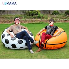 US $29.09 45% OFF|110*80*40cm Large Size Inflatable Sofa Basketball  Football Sofa Lazy Sofa Inflatable Stool Home Single Sofa-in Baby Seats &  Sofa ... Best Promo Bb45e Inflatable Football Bean Bag Chair Chelsea Details About Comfort Research Big Joe Shop Bestway Up In And Over Soccer Ball Online In Riyadh Jeddah And All Ksa 75010 4112mx66cm Beanless 45x44x26 Air Sofa For Single Giant Advertising Buy Sofainflatable Sofagiant Product On Factory Cheap Style Sale Sofafootball Chairfootball Pvc For Kids