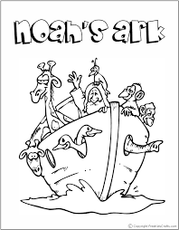 Free Bible Story Coloring Pages To Print On Children Stories Az