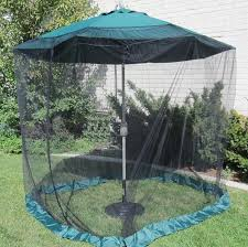 Offset Patio Umbrella W Mosquito Netting by Patio Umbrella With Netting Outdoor Goods
