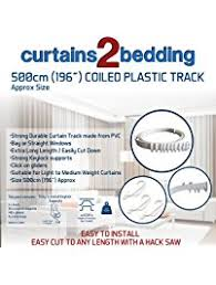 Flexible Curtain Track Amazon by Shower Curtain Rods Amazon Com
