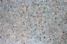 Stone Texture Terrazzo Floor Background