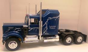 Revell Kenworth W900 - Lightning Express - Under Glass: Big Rigs ... Amazoncom Mack Log Trailer Diecast Replica 132 Scale Assorted Kenworth Adds Virtual Driver Coach Option To T680 T880 Models American Truck A Little Bit Ovesized Protypes Driving The Truck News T2000 Sleeper Cab Tractor 2010 3d Model By Hum3dcom Dump Viper Redsilver First Gear 150 Scale W900 Model In 3dexport Revell Toys Games Trucks The Worlds Best Wikipedia Semi Edmton Comfortable 100 Models Select Pete Trucks Getting Allison Tc10 Auto Trans