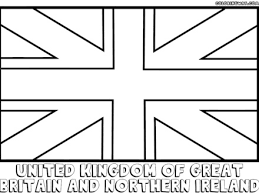 England Flag Coloring Pages To Download