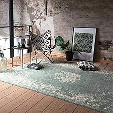 de fraai teppich vintage grun 185x275cm