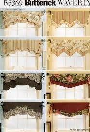 Waverly Curtains And Valances by Waverly Reversible Valance Sew Pattern Window Curtain Sew