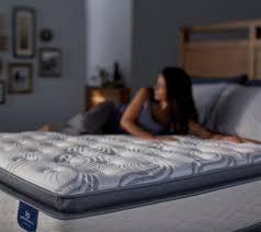 Serta Perfect Sleeper Air Mattress With Headboard by Serta Perfect Sleeper Belleshore Super Pt Queen Mattress Set