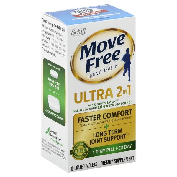 Move Ultra 2 in 1 With Comfort Max Clinically Proven Joint Support Dietary Supplement
