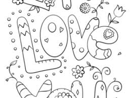 I Love You Coloring Pages Page Free Printable