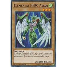 amazon com yu gi oh elemental hero neos sdhs en007