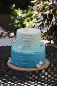 Blue ombre birthday cake Cake Goo s Pinterest