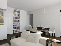 100 Home Decor Ideas For Apartments Apartment Dining Room Studio Cool White