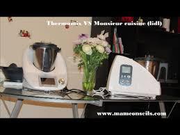 cuisine thermomix comparatif thermomix et monsieur cuisine sylvercrest