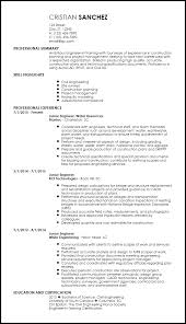 free creative engineering resume templates resumenow