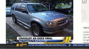 Dad Tries To Sell Son's Truck On Craigslist Over Pot; Ad Goes Viral ... Craigslist Durham Nc Cars Wordcarsco For Sale 1953 Ford F100 Pickup In Raleigh Nc Truck Zone Dodge Ram Beautiful Cummins Awesome Truckdome 2019 Used Trucks For By Owner Best Of Craigslist Sedona Black People Speed Hookup Campers Hook Up Cars And Accsories In Nc Utvs New Car Models 20 Raleigh Carsiteco Investors Acquire Rockingham Speedway Diecast Crazy Discussion