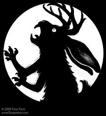 Walking Dead Pumpkin Stencils Free Printable by Were Jackalope Pumpkin Stencil By Mirroreyesserval On Deviantart