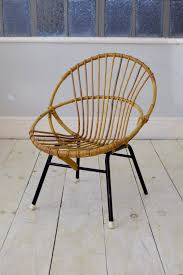 100 1960 Vintage Metal Outdoor Chairs A Stylish Mid Century Wicker Chair With Round Circular Design Metal