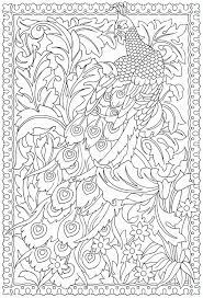 7 Pics Of Free Printable Peacock Coloring Pages