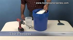 Homax Ceiling Texture Knockdown by How To Texture Drywall How To Mix Spray Mud Drywall Repair