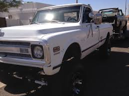 100 Chevy Truck 1970 CST K10 4x4 With 34 Ton Axels Rust Free 69 70 71