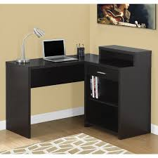 Mainstays Corner Computer Desk Instructions by Monarch Computer Desk Grey Corner With Storage Walmart Com