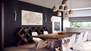 rustic dining room with unique furniture traba homes