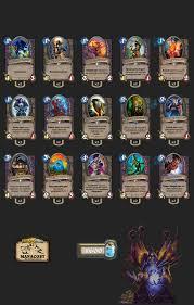 warlock hearthstone deck frozen throne warlock zoo deck frozen throne 28 images hearthstone frozen