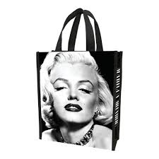 Marilyn Monroe Bathroom Sets by Amazon Com Vandor 70073 Marilyn Monroe Small Recycled Shopper