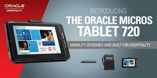 The Oracle MICROS Tablet 720 Mobility Designed for the