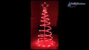 Spiral Pre Lit Christmas Trees by 5ft 150 Cm Flashing 3d Spiral Christmas Tree Light Silhouette