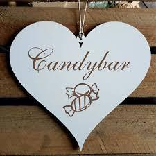 details zu schild herz candybar geschenk küche zucker süßigkeiten süßes bonbons